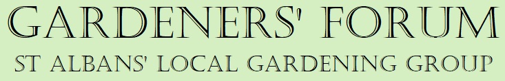 St Albans gardeners forum - the local gardening group